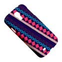 Purple And Pink Retro Geometric Pattern Samsung Galaxy S4 I9500/I9505 Hardshell Case View5