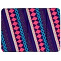 Purple And Pink Retro Geometric Pattern Samsung Galaxy Tab 7  P1000 Flip Case View1