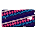 Purple And Pink Retro Geometric Pattern Sony Xperia T View1