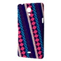 Purple And Pink Retro Geometric Pattern Sony Xperia T View3