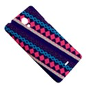 Purple And Pink Retro Geometric Pattern Sony Xperia T View5