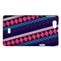 Purple And Pink Retro Geometric Pattern Sony Xperia Miro View1