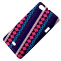 Purple And Pink Retro Geometric Pattern Sony Xperia Miro View4