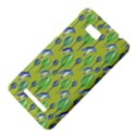 Tropical Floral Pattern HTC One SU T528W Hardshell Case View4