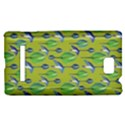 Tropical Floral Pattern HTC 8S Hardshell Case View1