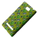 Tropical Floral Pattern HTC 8S Hardshell Case View4
