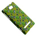 Tropical Floral Pattern HTC 8S Hardshell Case View5