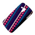 Purple And Pink Retro Geometric Pattern Samsung Galaxy Duos I8262 Hardshell Case  View4