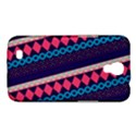 Purple And Pink Retro Geometric Pattern Samsung Galaxy Mega 6.3  I9200 Hardshell Case View1