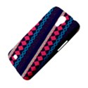 Purple And Pink Retro Geometric Pattern Samsung Galaxy Mega 6.3  I9200 Hardshell Case View4
