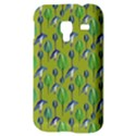 Tropical Floral Pattern Samsung Galaxy Ace Plus S7500 Hardshell Case View3