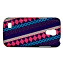 Purple And Pink Retro Geometric Pattern Galaxy S4 Mini View1
