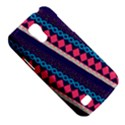 Purple And Pink Retro Geometric Pattern Galaxy S4 Mini View5