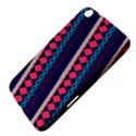 Purple And Pink Retro Geometric Pattern Samsung Galaxy Tab 3 (8 ) T3100 Hardshell Case  View4