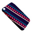 Purple And Pink Retro Geometric Pattern Samsung Galaxy Tab 3 (8 ) T3100 Hardshell Case  View5
