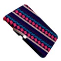 Purple And Pink Retro Geometric Pattern Samsung Galaxy Tab 3 (10.1 ) P5200 Hardshell Case  View5