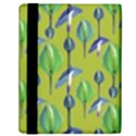 Tropical Floral Pattern Samsung Galaxy Tab 10.1  P7500 Flip Case View2