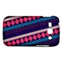 Purple And Pink Retro Geometric Pattern Samsung Galaxy Ace 3 S7272 Hardshell Case View1