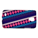 Purple And Pink Retro Geometric Pattern Galaxy S4 Active View1