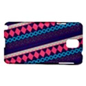 Purple And Pink Retro Geometric Pattern Samsung Galaxy Note 3 N9005 Hardshell Case View1