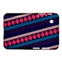 Purple And Pink Retro Geometric Pattern Samsung Galaxy Tab 2 (7 ) P3100 Hardshell Case  View1