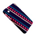 Purple And Pink Retro Geometric Pattern Samsung Galaxy Tab 2 (7 ) P3100 Hardshell Case  View5