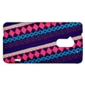 Purple And Pink Retro Geometric Pattern HTC One Max (T6) Hardshell Case View1