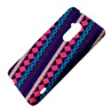 Purple And Pink Retro Geometric Pattern HTC One Max (T6) Hardshell Case View4
