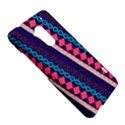 Purple And Pink Retro Geometric Pattern HTC One Max (T6) Hardshell Case View5