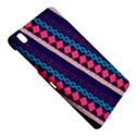 Purple And Pink Retro Geometric Pattern Samsung Galaxy Tab Pro 8.4 Hardshell Case View4