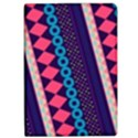 Purple And Pink Retro Geometric Pattern iPad Air Flip View1