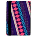 Purple And Pink Retro Geometric Pattern iPad Air Flip View4