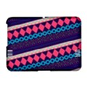 Purple And Pink Retro Geometric Pattern Amazon Kindle Fire (2012) Hardshell Case View1