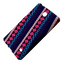 Purple And Pink Retro Geometric Pattern Samsung Galaxy Tab 4 (7 ) Hardshell Case  View4