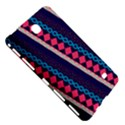 Purple And Pink Retro Geometric Pattern Samsung Galaxy Tab 4 (7 ) Hardshell Case  View5