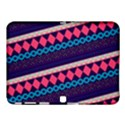 Purple And Pink Retro Geometric Pattern Samsung Galaxy Tab 4 (10.1 ) Hardshell Case  View1