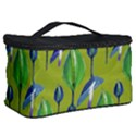 Tropical Floral Pattern Cosmetic Storage Case View2