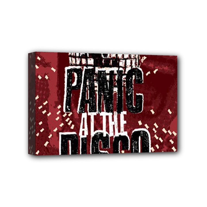 Panic At The Disco Poster Mini Canvas 6  x 4