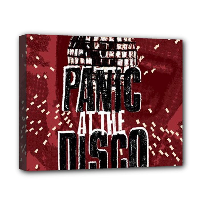 Panic At The Disco Poster Canvas 10  x 8
