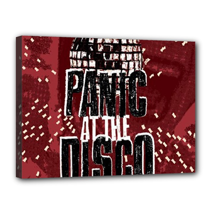 Panic At The Disco Poster Canvas 16  x 12