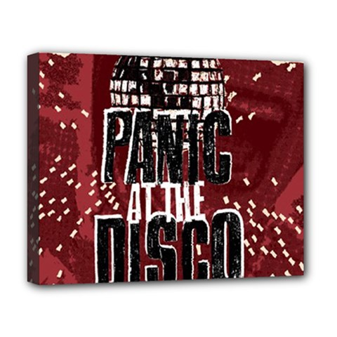 Panic At The Disco Poster Deluxe Canvas 20  x 16