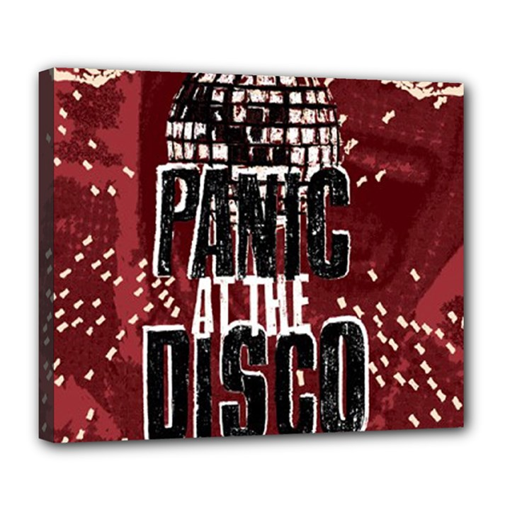 Panic At The Disco Poster Deluxe Canvas 24  x 20