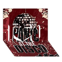 Panic At The Disco Poster I Love You 3D Greeting Card (7x5)