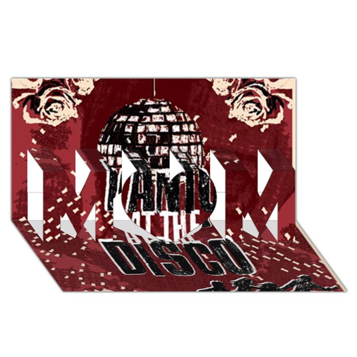 Panic At The Disco Poster MOM 3D Greeting Card (8x4)