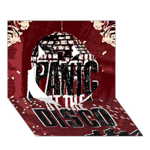 Panic At The Disco Poster Heart 3D Greeting Card (7x5)