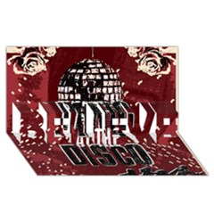 Panic At The Disco Poster Believe 3d Greeting Card (8x4)