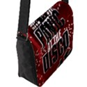 Panic At The Disco Poster Flap Messenger Bag (L)  View2