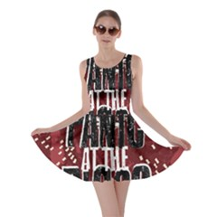 Panic At The Disco Poster Skater Dress