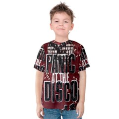 Panic At The Disco Poster Kids  Cotton Tee