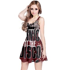 Panic At The Disco Poster Reversible Sleeveless Dress